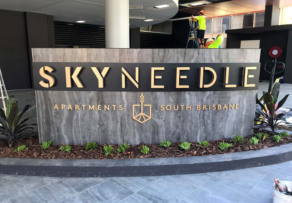 Skyneedle Brisbane Corporate Design & Signage