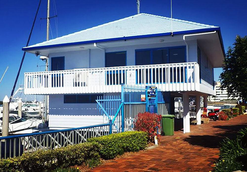 Yacht Squadron Maintenance Painting