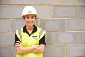 Apprentices Get Top Priority at Usher
