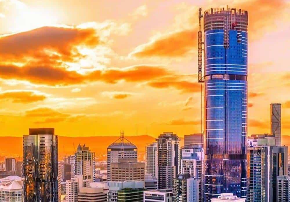 Commerica Painting Skytower Brisbane